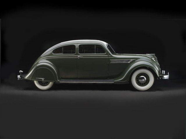 1935 Chrysler Imperial Model C-2 Airflow Coupe. Collection of John and Lynn Heimerl, Suffolk, VA. (Photo by Peter Harholdt)