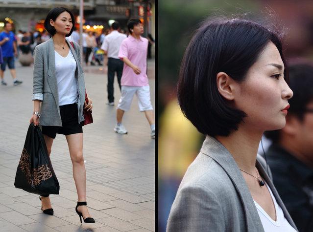 """Elegance"". Shanghai, 2012. (Asian (Street) Impressions)"