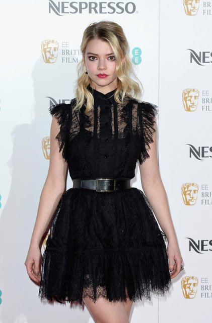 Anya Taylor-Joy attends the BAFTA nominees party at Kensington Palace on February 11, 2017 in London, United Kingdom. (Photo by Jeff Spicer/Getty Images)