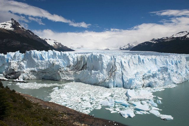 Moreno Glacier (Argentina). The Perito Moreno Glacier is a glacier located in the Los Glaciares National Park in southwest Santa Cruz province, Argentina. (Photo by Christopher Groenhout/Lonely Planet Images)