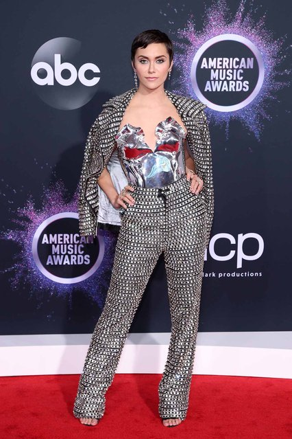 Alyson Stoner attends the 2019 American Music Awards at Microsoft Theater on November 24, 2019 in Los Angeles, California. (Photo by Rich Fury/Getty Images)