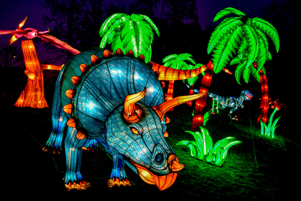China Light Festival at Cologne Zoo