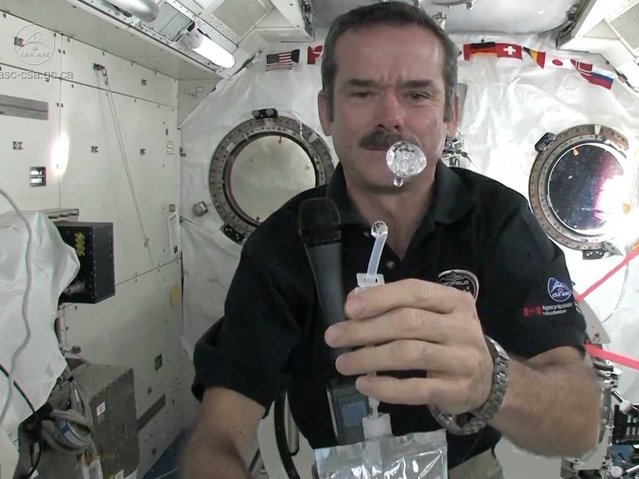How To Wash Your Hands in Space - Chris Hadfield