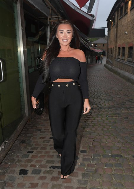 Lauren Goodger seen attending the UK Love Island 2018 launch screening at Fest Camden on June 4, 2018 in London, England. (Photo by Splash News and Pictures)