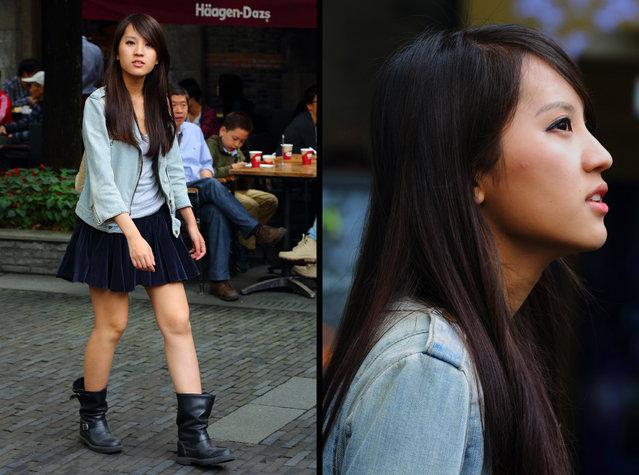 """Haagen-Dazs"". Shanghai, 2012. (Asian (Street) Impressions)"