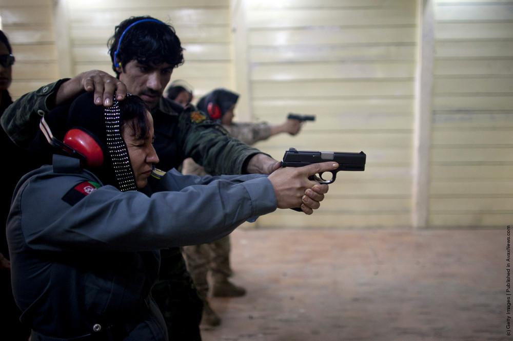 Female Afghan Police Recruits