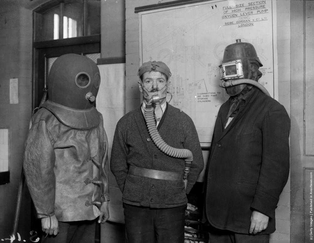 Gas Masks. Part II