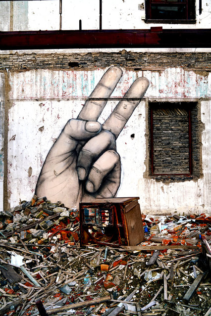 """""""Peace among the Pieces"""". (Photo by Graham Fink/Riflemaker)"""