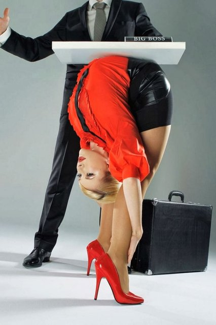 Meet the World's Most Flexible Woman Julia Gunthel Aka Zlata