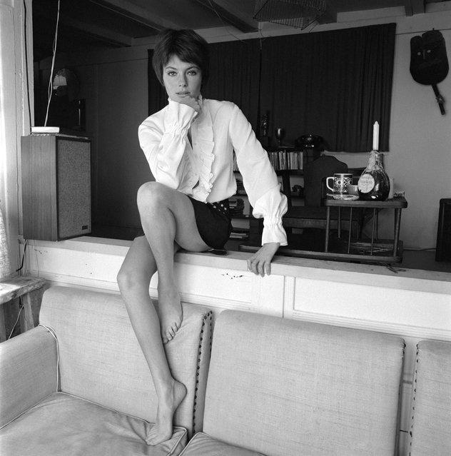 Jacqueline Bisset, 1970. (Photo by Terry O'Neill)
