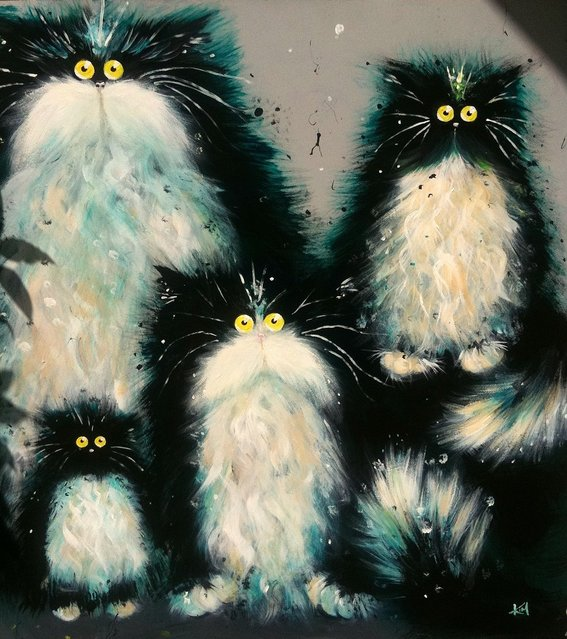Cats By Kim Haskins