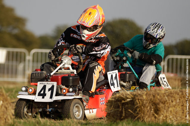 Lawn Mower Endurance Race