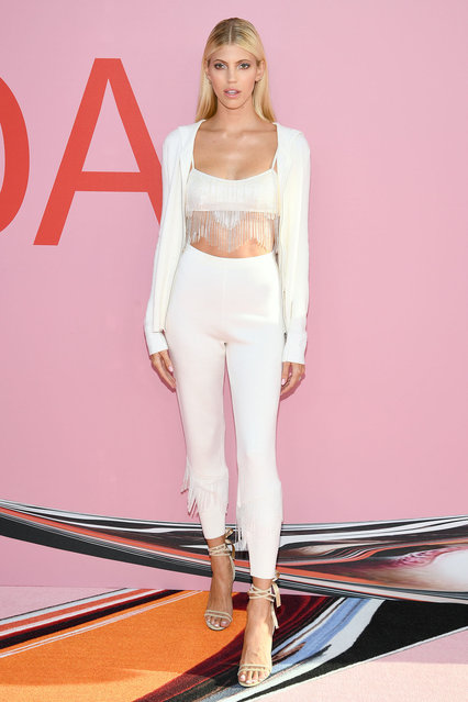 Devon Windsor attends the CFDA Fashion Awards at the Brooklyn Museum of Art on June 03, 2019 in New York City. (Photo by Dimitrios Kambouris/Getty Images)