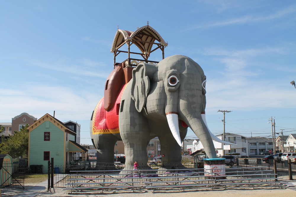 Lucy the Elephant in Margate City, New Jersey