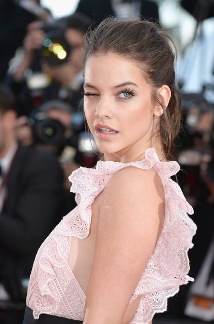 "Barbara Palvin attends the ""Julieta"" premiere during the 69th annual Cannes Film Festival at the Palais des Festivals on May 17, 2016 in Cannes, France. (Photo by Pascal Le Segretain/Getty Images)"