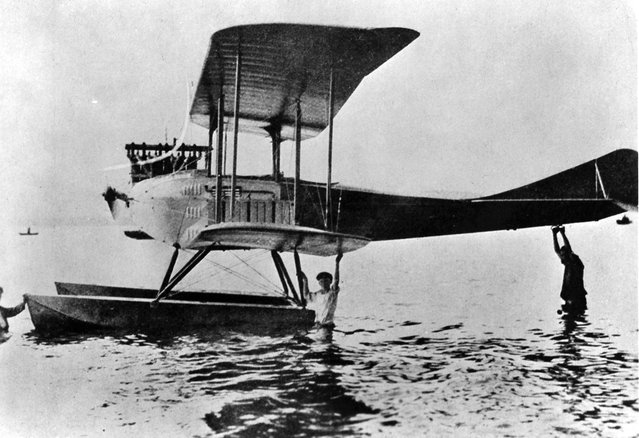 German hydroplane, ca. 1918. (Photo by U.S. National Archives via The Atlantic)