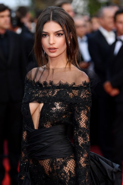 "Model Emily Ratajkowski attends the ""Loveless (Nelyubov)"" screening during the 70th annual Cannes Film Festival at Palais des Festivals on May 18, 2017 in Cannes, France. (Photo by James Gourley/Rex Features/Shutterstock)"