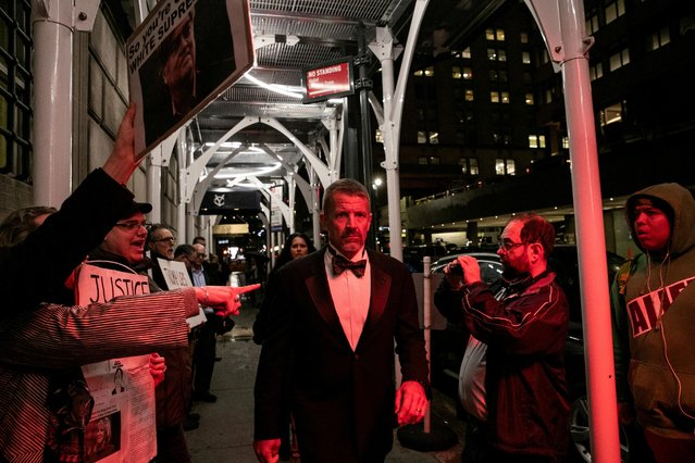 Erik Prince arrives for the New York Young Republican Club Gala at The Yale Club of New York City in Manhattan in New York City, New York, U.S., November 7, 2019. (Photo by Jeenah Moon/Reuters)