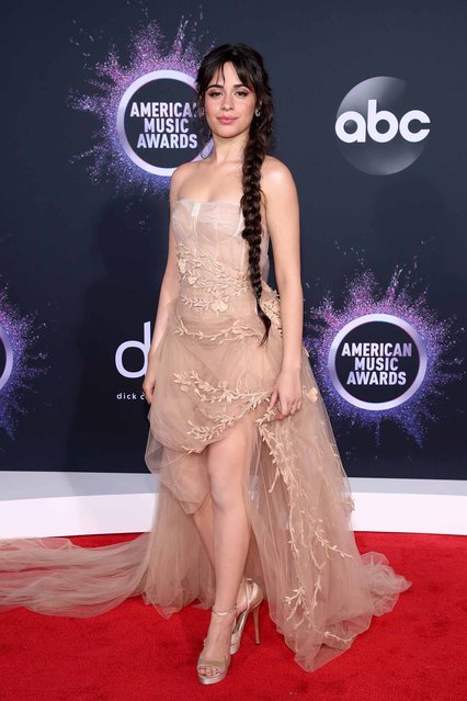 Camila Cabello attends the 2019 American Music Awards at Microsoft Theater on November 24, 2019 in Los Angeles, California. (Photo by Rich Fury/Getty Images)