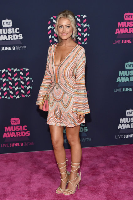 Musical artist Brooke Eden attends the 2016 CMT Music awards at the Bridgestone Arena on June 8, 2016 in Nashville, Tennessee. (Photo by Mike Coppola/Getty Images for CMT)