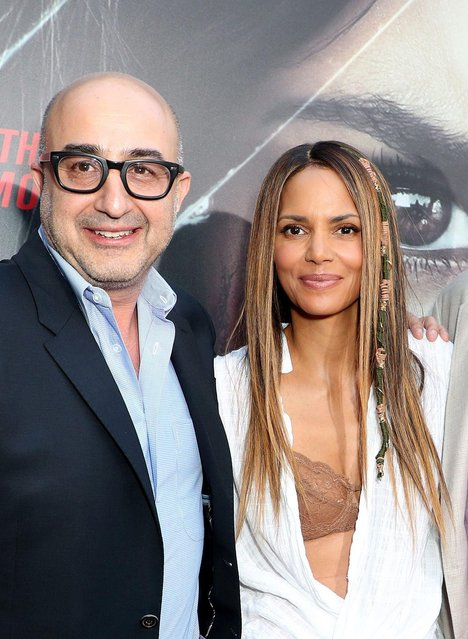 """Actress Halle Berry and David Dinerstein attend the premiere of Aviron Pictures' """"Kidnap"""" at ArcLight Hollywood on July 31, 2017 in Hollywood, California. (Photo by Chelsea Lauren/Variety/Rex Features/Shutterstock)"""