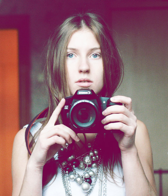 Self-portrait. (Photo by Ksenia Yusova)