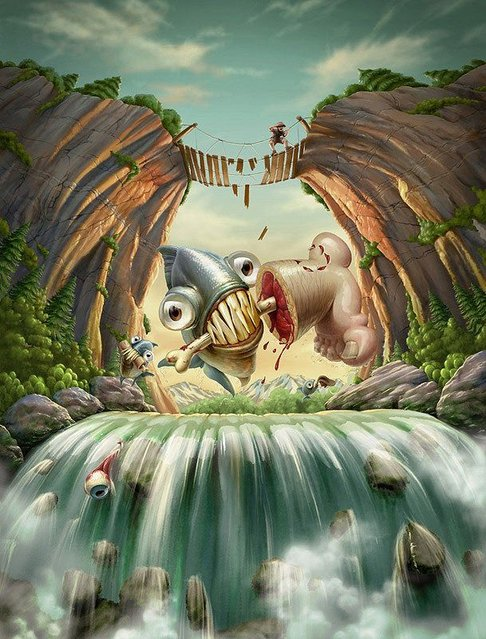 Amazing Illustration By Oscar Ramos