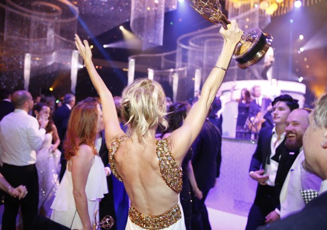 General view of atmosphere at the Governors Ball for the Television Academy's Creative Arts Emmy Awards at Microsoft Theater on Saturday, September 12, 2015, in Los Angeles. (Photo by Colin Young-Wolff/Invision for the Television Academy/AP Images)