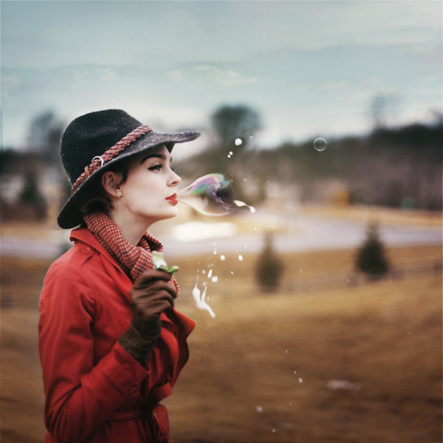 All my life i lived in a bubble. (Photo by Karrah Kobus)