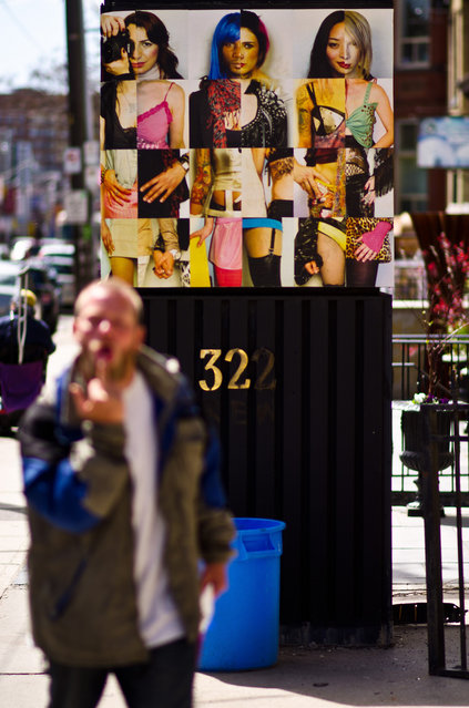 """""""Well f*ck You Too! Toronto, 2011"""". (Photo and comment by pəruse)"""