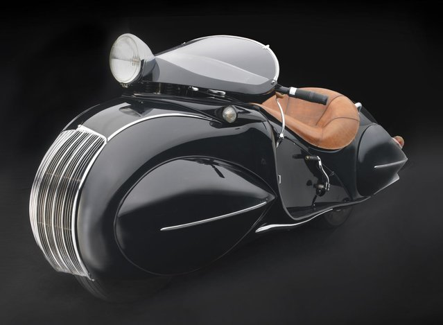 1930 KJ Henderson Streamline. Collection of Frank Westfall. (Photo by Peter Harholdt)