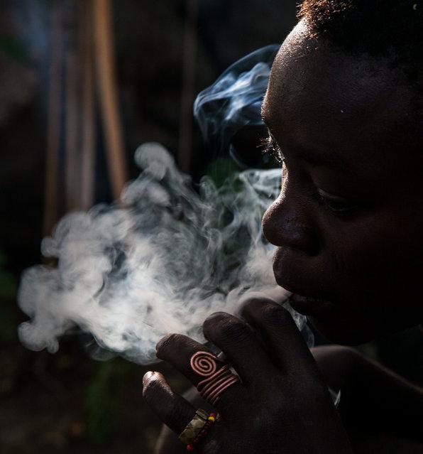 """Hadzabe Bush Boy"". A boy from the Hadzabe bush tribe in Tanzania. (Photo and caption by Darryl MacDonald/National Geographic Traveler Photo Contest)"