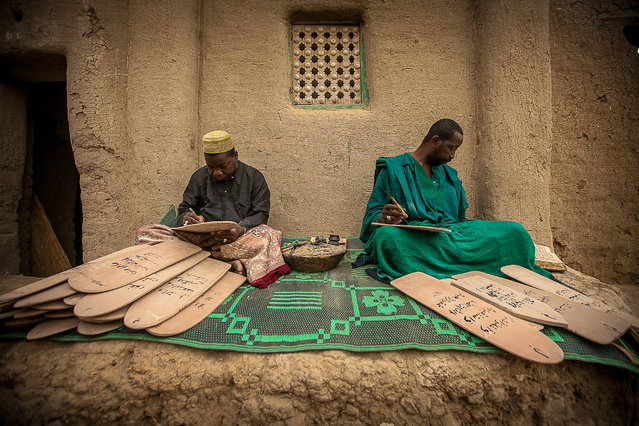 """Koranic school"". Koranic school in the alleys of Djenne, Sahel, Mali. (Photo and caption by Anthony Pappone/National Geographic Traveler Photo Contest)"
