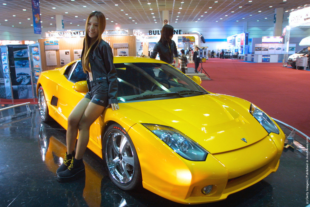 Sexy Models On Auto Shows. Part I
