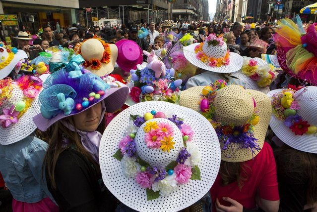 Easter Parade And Bonnet Festival In New York City