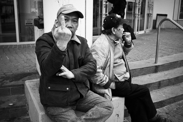 """""""Fxck You! Shot in China Town, Toronto. (Photo and comment by Jeff T.Y.T)"""