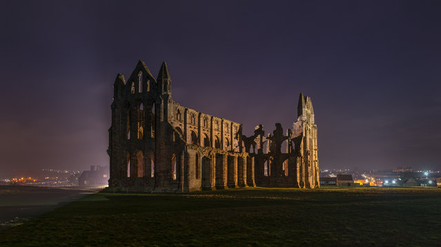 "Shortlisted: Whitby Abbey. ""I was born in Whitby and lived there until the age of 21. I spent many wonderful years visiting the historic treasures that Whitby has to offer, nothing more iconic than the abbey that towers over the town's harbour. Now living in Lincoln, I get back as often as I can to see family but to also photograph some of the beautiful places it has to offer"". (Photo by James Smith/Historic Photographer of the Year 2020)"