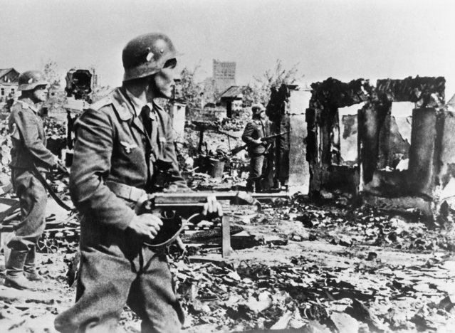German troops in Stalingrad, USSR. September 10, 1942. (Photo by TASS)