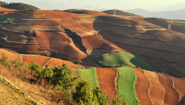 Dongchuan Red Lands, China