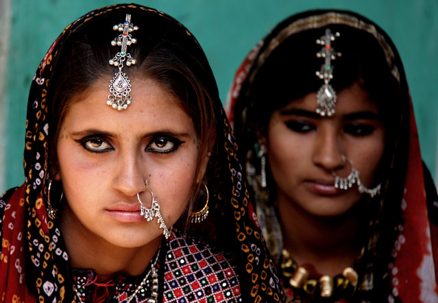 """Raw Beauty"". Two raw Beauties from a village could put any model to shame. Location: Bhuj Gujarat, India. (Photo and caption by Porus Khareghat/National Geographic Traveler Photo Contest)"