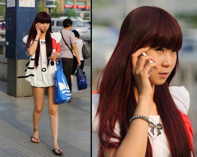 """Hello Kitty"". Beijing, 2012. (Asian (Street) Impressions)"
