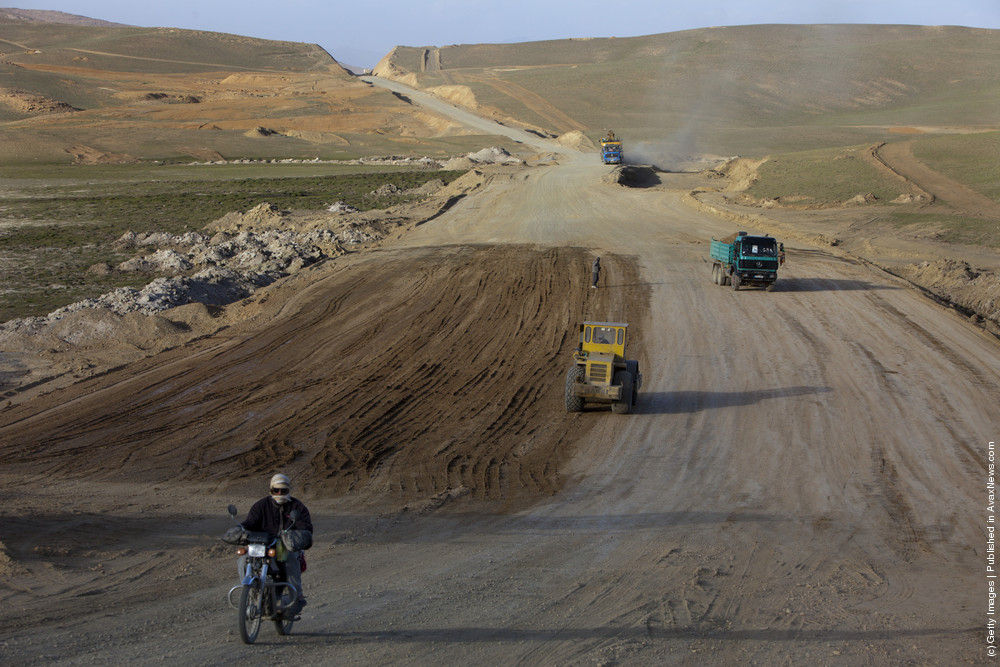 Road Construction In Rural Afghanistan