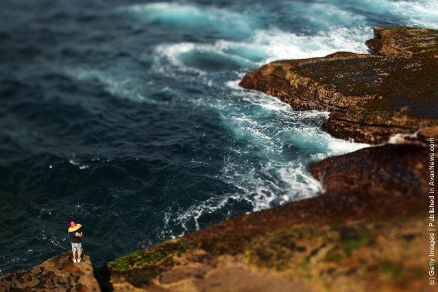 Rock Fishing In Sydney