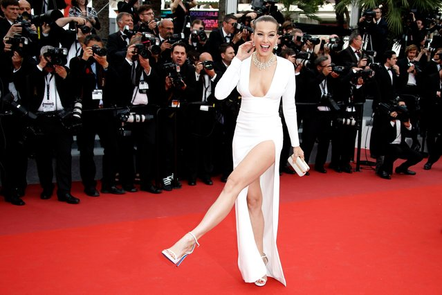 "Czech model Petra Nemcova arrives for the screening of ""Nelyubov"" (Loveless) during the 70th annual Cannes Film Festival, in Cannes, France, 18 May 2017. (Photo by Guillaume Horcajuelo/EPA)"