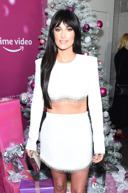 """Kacey Musgraves attends the screening of the """"The Kacey Musgraves Christmas Show"""" at Metrograph on November 19, 2019 in New York City. (Photo by Jamie McCarthy/Getty Images)"""