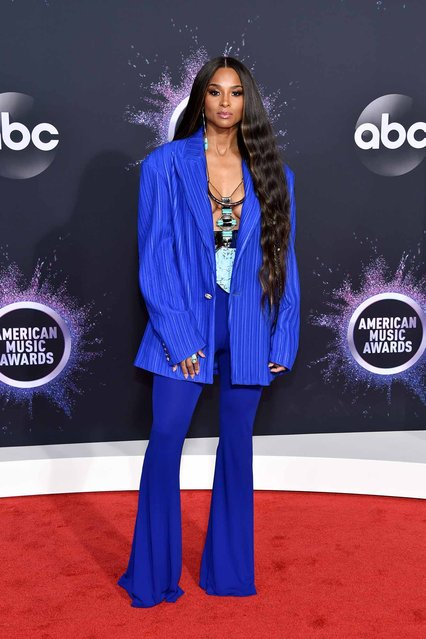 Ciara attends the 2019 American Music Awards at Microsoft Theater on November 24, 2019 in Los Angeles, California. (Photo by John Shearer/Getty Images for dcp)
