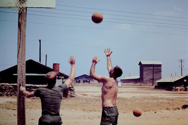 A photo from the collection of veteran G. Huested, Vietnam 1970. (Photo by G. Huested/Vietnam Slide Project)