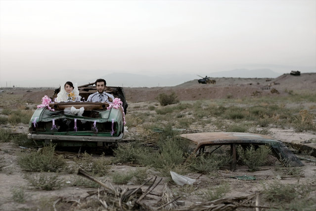 Modern Life and War series, 2008. Gohar Dashti's series is about war and its legacy. The images combine two elements: intimate scenes of everyday life and something bearing the signs of conflict. (Photo by Gohar Dashti/The Guardian)