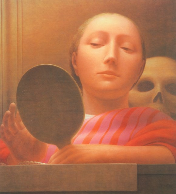 Mirror I. Artwork by George Tooker