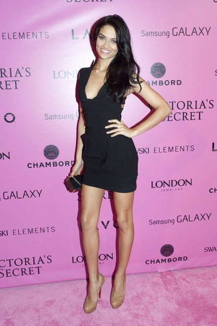 Model Shanina Shaik attends the after party for the 2012 Victoria's Secret Fashion Show at Lavo NYC on November 7, 2012 in New York City. (Photo by Michael Stewart/FilmMagic)
